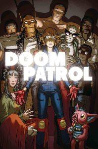 Doom Patrol vol. 1: Un pezzo per volta, copertina di Nick Derington