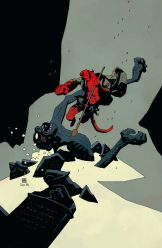 Hellboy Winter Special 2018, copertina di Mike Mignola