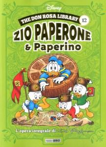 Zio Paperone & Paperino 12, copertina di Don Rosa