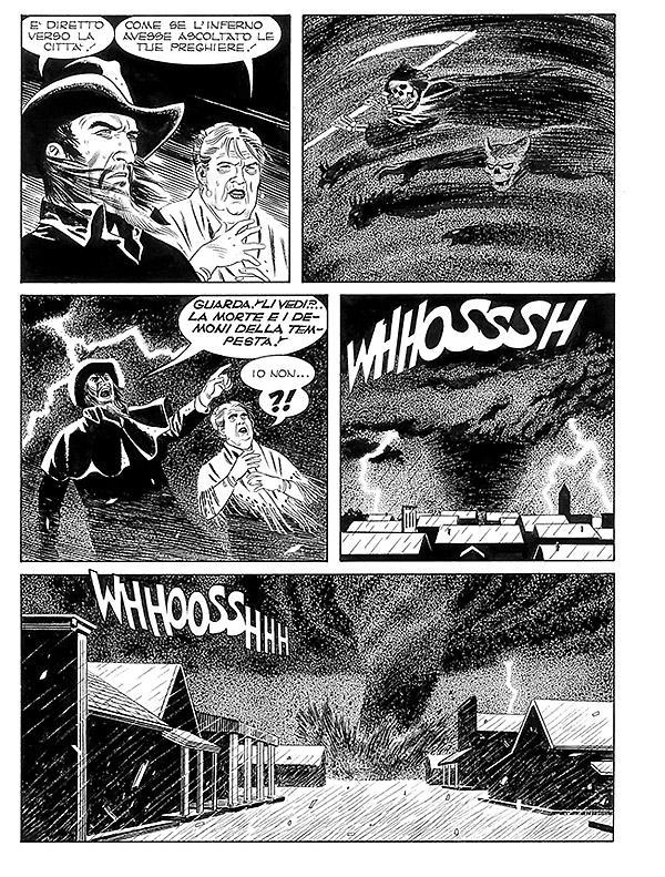 Tex 673: Il segno di Yama, anteprima 01