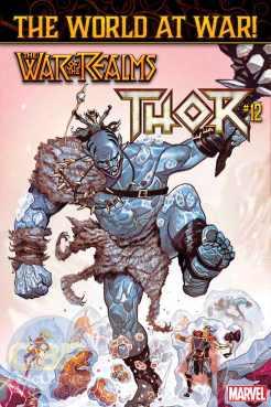 Thor #12, copertina di Mike Del Mundo