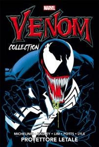 Venom Collection vol. 2: Protettore letale, copertina di Mark Bagley