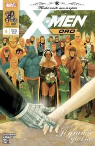 X-Men Oro 16, copertina di Phil Noto