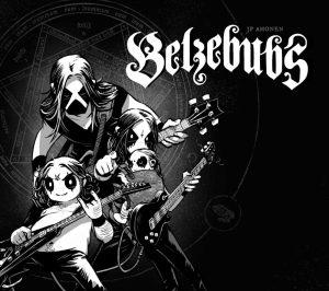 Belzebubs, copertina di J.P. Ahonen