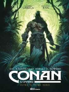 Conan il cimmero: Oltre il Fiume Nero, copertina di Anthony Jeàn