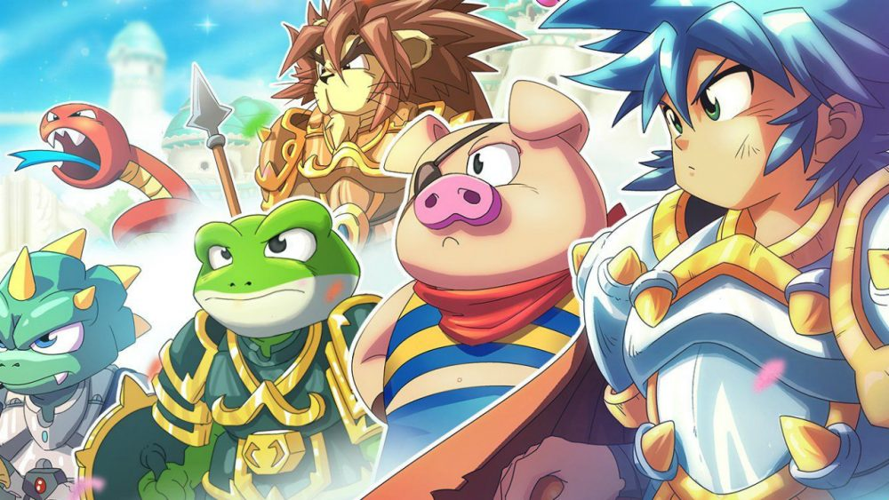 Monster Boy and the Cursed Kingdom banner scheda