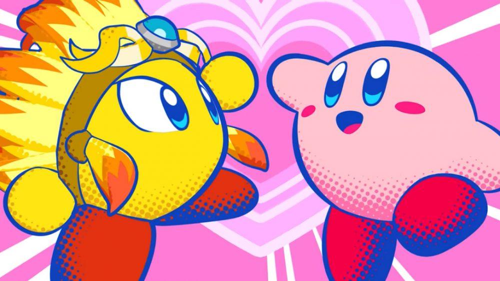 Kirby Star Allies banner scheda