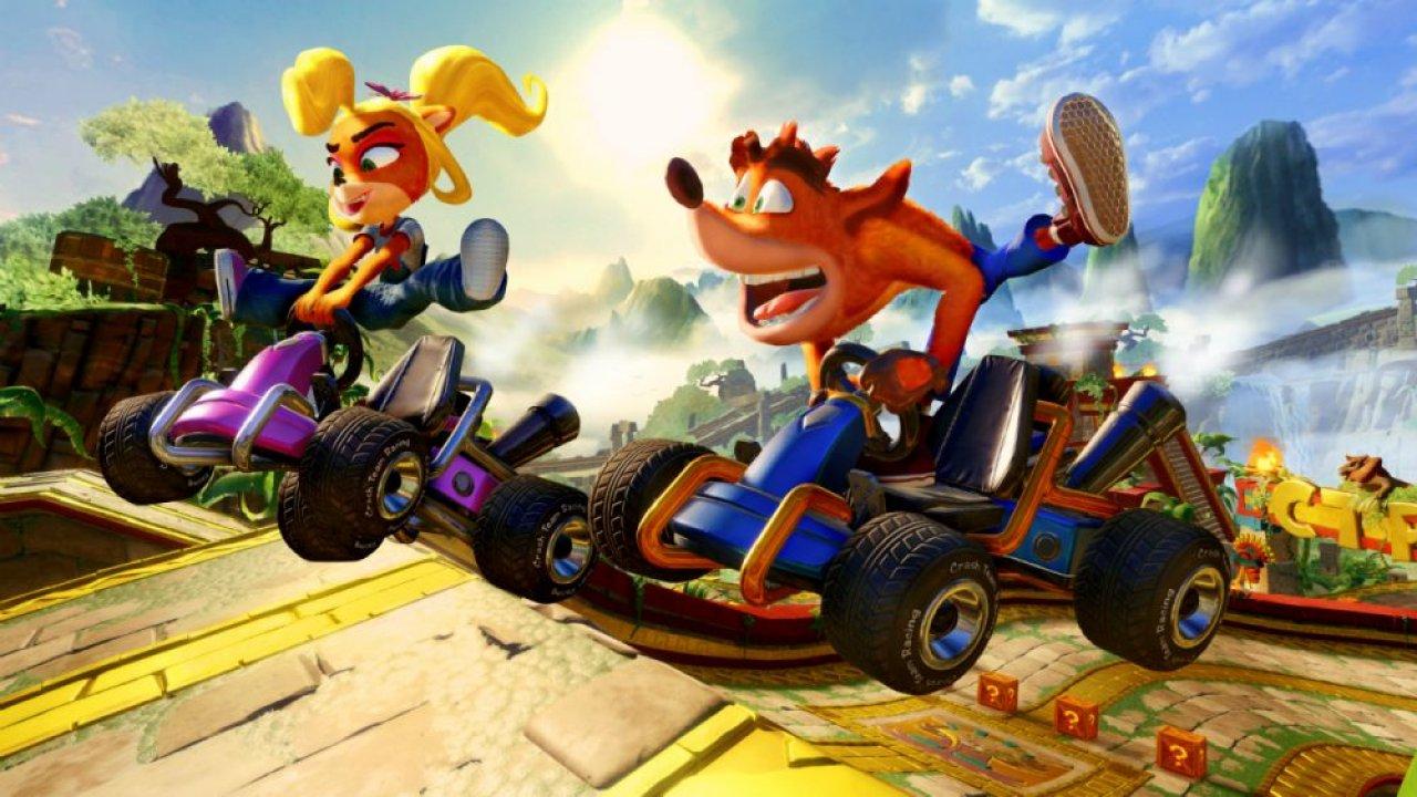 Crash Team Racing Nitro-Fueled banner scheda