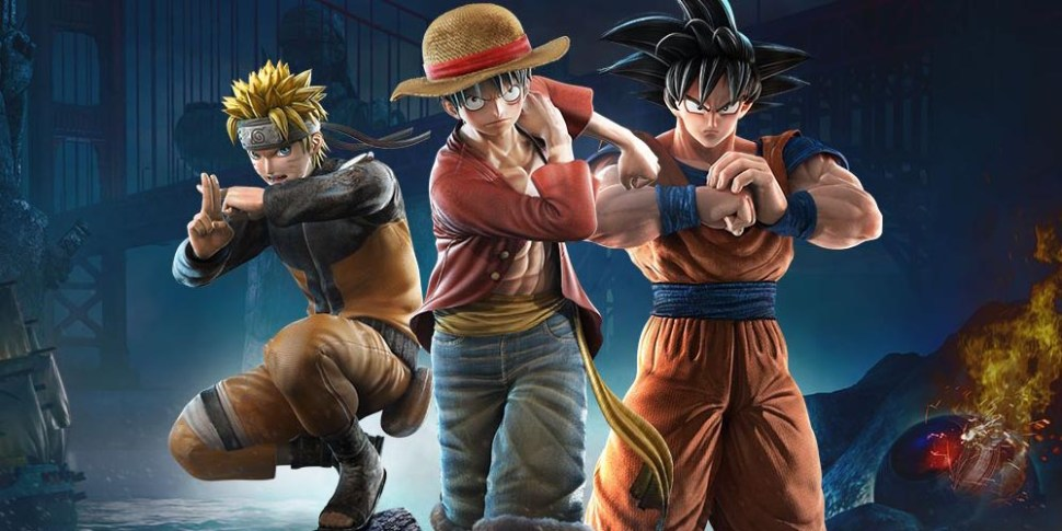 JUMP Force megaslide