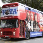 Il bus elettorale a Lucca 2012 | Tutto tutto niente niente