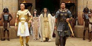 Come Ridley Scott ha girato la scena della frana di fango in Exodus: Dei e Re