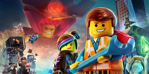 the lego movie banner