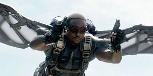 Anthony Mackie Captain America Avengers
