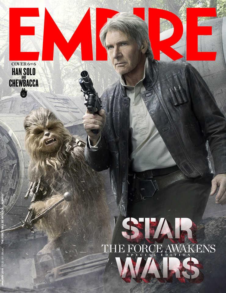 Star Wars Empire Cover