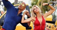 Baywatch: Dwayne Johnson insieme a Kelly Rohrbach e Priyanka Chopra sul set