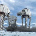 Star Wars Land: ecco degli AT-AT in costruzione nell'area del parco di Disneyland
