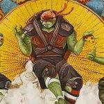 Tartarughe Ninja – Fuori dell'Ombra, i quattro protagonisti in un particolare poster in stile rinascimentale