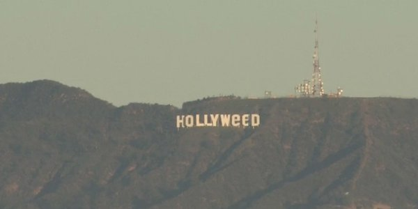 Da Hollywood a Hollyweed, in California scherzo di Capodanno