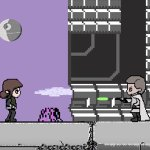 Rogue One: a Star Wars Story riassunto con un video in 8-Bit