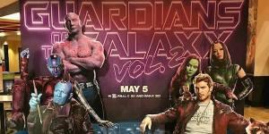 Guardiani della Galassia Vol 2 standee