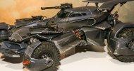 Justice League: un nuovo sguardo alla Batmobile grazie ad una action figure della Mattel