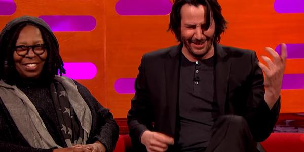 Keanu Reeves avvistato al policlinico gemelli di Roma