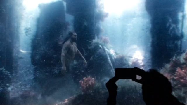 Aquaman: il test footage potrebbe aver rivelato Orm o Poseidone