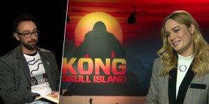 EXCL – Kong: Skull Island, Brie Larson sul messaggio del film e sulle eroine femminili al cinema!
