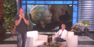 Vin Diesel Ellen DeGeneres Fast & Furious 8 Charlize Theron