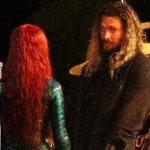 Aquaman: Jason Momoa e Amber Heard insieme sul set!