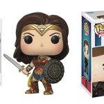 Wonder Woman: ecco le figure Funko POP! di Diana e Steve Trevor