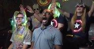 Guardians of the Galaxy – Mission: BREAKOUT! ecco la reazione terrorizzata ma divertita di un reporter durante una corsa