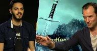 EXCL – King Arthur: Il Potere della Spada, Jude Law dall'essere re all'essere attore