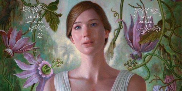 Jennifer Lawrence si strappa il cuore nella locandina di Mother!