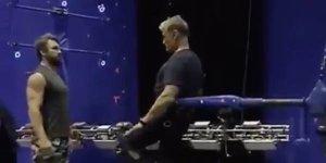 Aquaman: Dolph Lundgren in azione in un video dal backstage