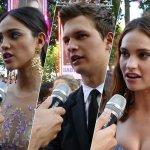 EXCL – Baby Driver: Il Genio della Fuga, le nostre interviste dal red carpet della premiere europea