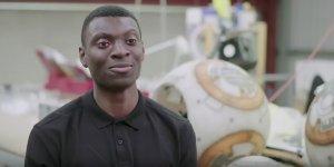 Star Wars British Film Institute trainee