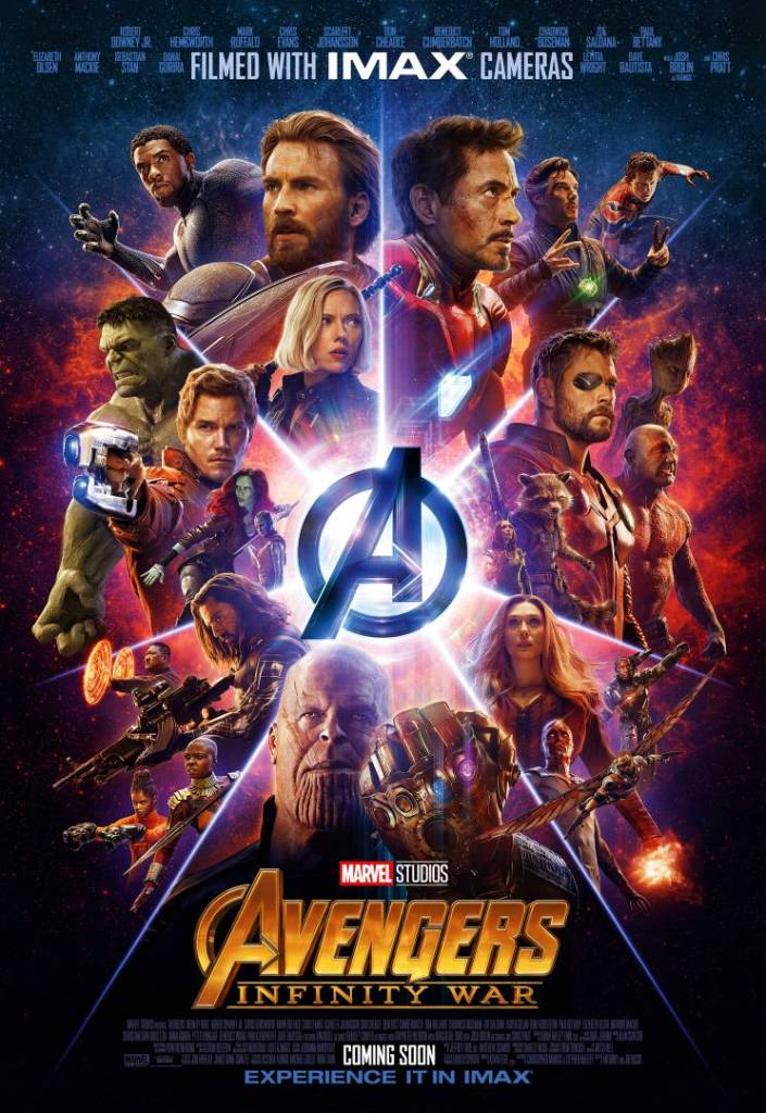 Risultati immagini per the avengers infinity war poster