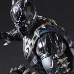 Black Panther: ecco la figure del supereroe Marvel targata Square Enix