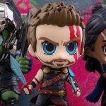 Thor: Ragnarok ecco le figure Cosbaby bobblehead dei protagonisti