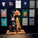 D23 Expo: le magliette personalizzate degli artisti Walt Disney Animation Studios