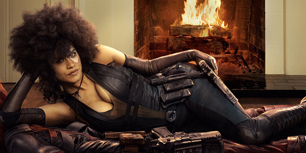 Deadpool 2, la prima foto di Zazie Beetz come Domino
