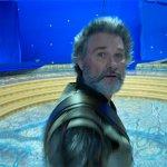 Guardiani della Galassia Vol. 2: Kurt Russel quasi colpito da una cinepresa nelle papere dal set