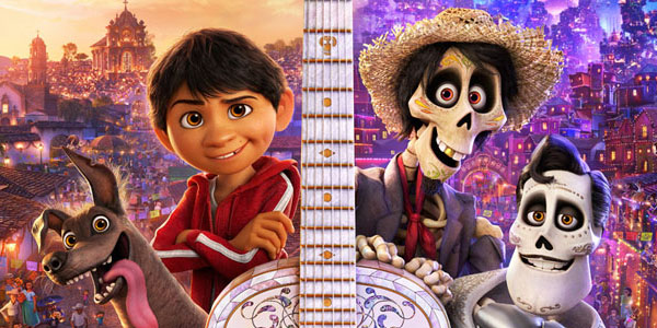 Coco due mondi si incontrano nel nuovo poster del film