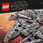 Star Wars: svelato ufficialmente il LEGO Star Wars Ultimate Collector Series Millennium Falcon!
