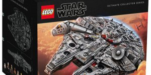 Star Wars: svelato ufficialmente il LEGO Star Wars Ultimate Collector Series Millennium Falcon!