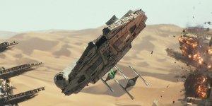 Millenniu Falcon Han Solo