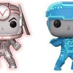 Tron: ecco i Funko POP! fluorescenti ispirati ai protagonisti del film del 1982