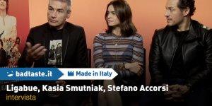 EXCL: Made in Italy, il nostro incontro con Ligabue, Stefano Accorsi e Kasia Smutniak