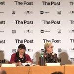 The Post: Steven Spielberg, Tom Hanks e Meryl Streep presentano il film a Milano